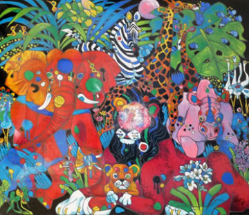 My World 1995 Limited Edition Print by Tie-Feng Jiang