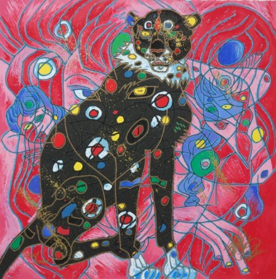 Cat Suite of 4 Limited Edition Print by Tie-Feng Jiang