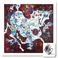 White Horse 1997 Limited Edition Print by Tie-Feng Jiang - 1