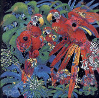 Birds of Paradise 1997 Limited Edition Print by Tie-Feng Jiang - 0