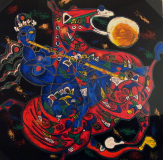 Freedom Suite East and West 1991 Limited Edition Print - Tie-Feng Jiang