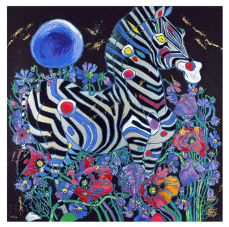 A Spring Rhyme 1998 Limited Edition Print by Tie-Feng Jiang