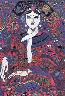Empress 1992 Limited Edition Print - Tie-Feng Jiang