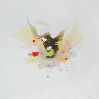 Petalouda (Butterfly) 2016 36x36 Original Painting - Joseph Kinnebrew