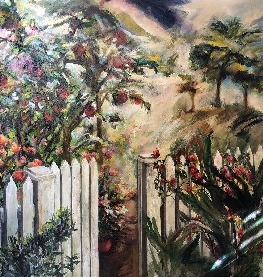 Remember the Beginning 1995 66x66 Original Painting by Joseph Kinnebrew