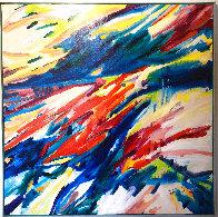 From Michaelangelo (#103) 65x65 Super Huge Original Painting by Joseph Kinnebrew - 0