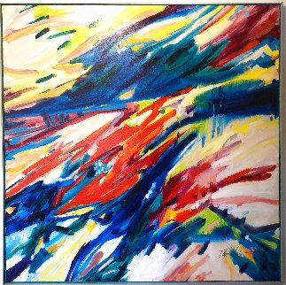 From Michaelangelo (#103) 65x65 Super Huge Original Painting - Joseph Kinnebrew