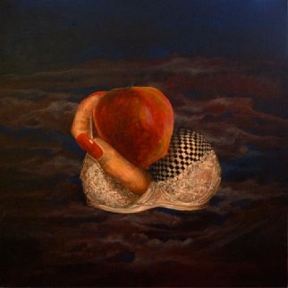In the Beginning 2014 24x24 Original Painting by Joseph Kinnebrew