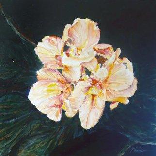 Untitled Bouquet 2015 24x24 Original Painting by Joseph Kinnebrew