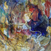 Venus from Celestina 2014 24x24 in Original Painting by Joseph Kinnebrew - 1