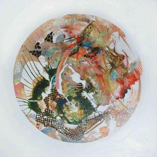 Mercury From Celestina 2014 24x24 Original Painting by Joseph Kinnebrew