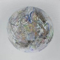 Uranus From Celestina 2014 24x24 Original Painting by Joseph Kinnebrew - 0