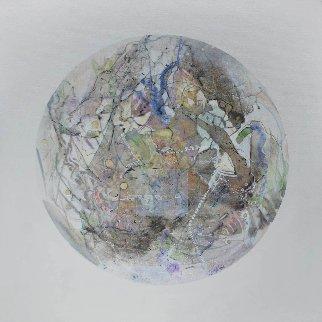 Uranus From Celestina 2014 24x24 Original Painting by Joseph Kinnebrew