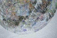 Uranus From Celestina 2014 24x24 Original Painting by Joseph Kinnebrew - 2