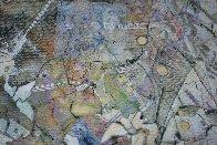 Uranus From Celestina 2014 24x24 Original Painting by Joseph Kinnebrew - 3