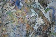Uranus From Celestina 2014 24x24 Original Painting by Joseph Kinnebrew - 5