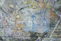 Uranus From Celestina 2014 24x24 Original Painting by Joseph Kinnebrew - 6