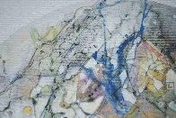 Uranus From Celestina 2014 24x24 Original Painting by Joseph Kinnebrew - 8