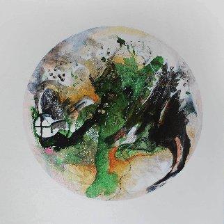 Mars From Celestina 24x24 Original Painting by Joseph Kinnebrew