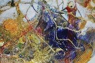 Anais from Celestina 2014 24x24 Original Painting by Joseph Kinnebrew - 3