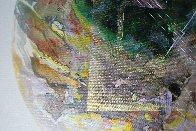 Theo X22 from Celestina 2014 24x24 Original Painting by Joseph Kinnebrew - 3