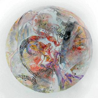 Wasano From Celestina 2014 24x24 Original Painting by Joseph Kinnebrew