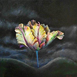 New World 2015 24x24 Original Painting by Joseph Kinnebrew