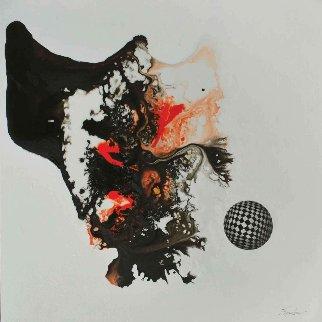 Triphones From Terracina 2016 24x24 Original Painting - Joseph Kinnebrew