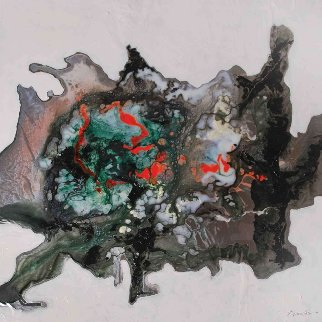 Meditation on Xerxes From Celestina 2016 24x24 Original Painting by Joseph Kinnebrew