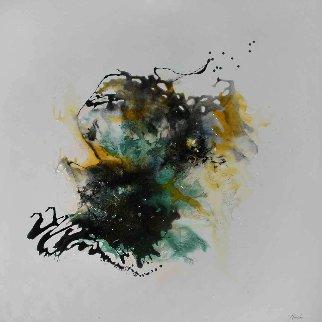 Xenomorpheus  2016 36x36 Original Painting - Joseph Kinnebrew