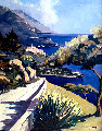 Riviera Afternoon 2000 Limited Edition Print -  Joanny