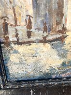 Untitled (Washington Arch) 1950 13x9 NYC Original Painting by Johann  Berthelsen  - 5