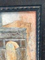 Untitled (Washington Arch) 1950 13x9 NYC Original Painting by Johann  Berthelsen  - 7