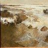 Marsh Scene 1974 46x46 Original Painting by John Alexander - 1