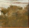 Marsh Scene 1974 46x46 Original Painting by John Alexander - 2