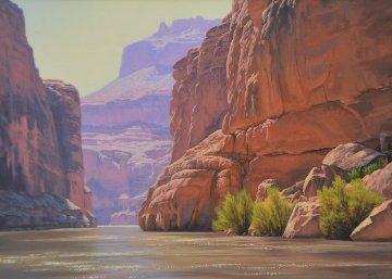 Untitled Painting 1990 36x30 Original Painting by John Cogan