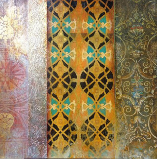 Patterns of the Ages III And IV (Suite of 2) Each 38x38 Original Painting by John Douglas