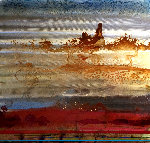 Desert Lights II  Original Painting - John Douglas