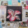 Flowers Thru Time 3 and 4 - Set of 2 33x33 Original Painting by John Douglas - 1