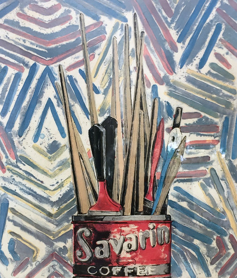 Savarin Whitney Museum Poster 1977 Other by Jasper Johns