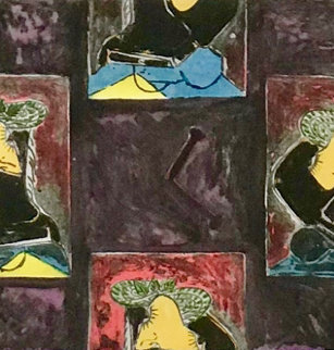 Untitled 1988 Limited Edition Print by Jasper Johns