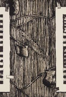 Ventriloquist 1990 Limited Edition Print - Jasper Johns