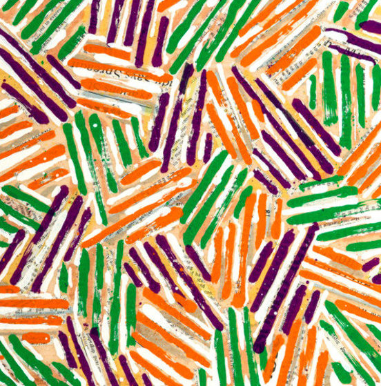 Untitled Screenprint 1977 Limited Edition Print by Jasper Johns