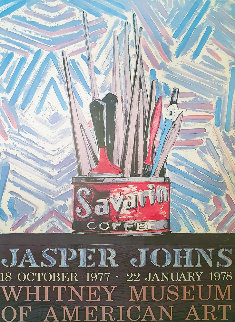 Savarin Coffee Poster 1977  Other - Jasper Johns
