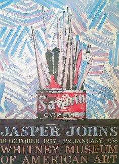 Savarin Coffee Poster 1977 Limited Edition Print by Jasper Johns