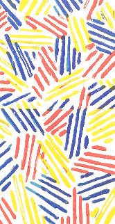 Untitled #4, From 6 Lithographs   1975  Limited Edition Print - Jasper Johns