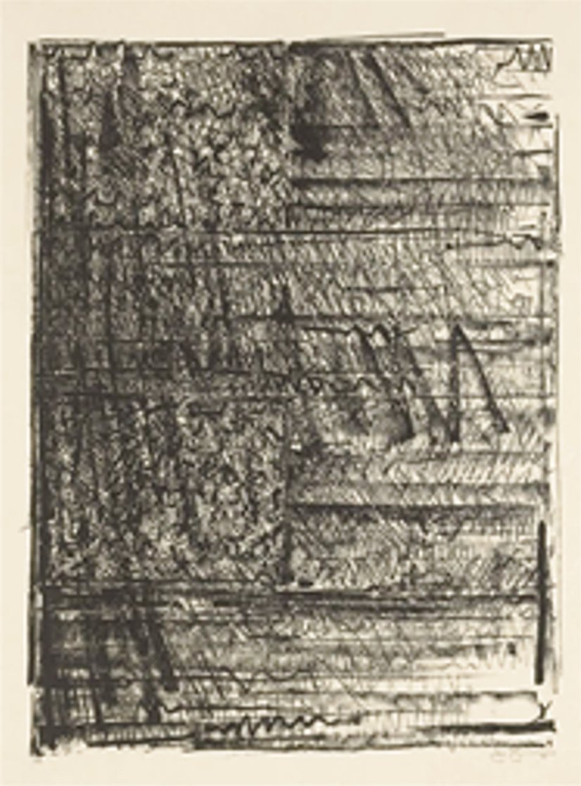 Two Flags (Ulae 212) 1980 Limited Edition Print by Jasper Johns