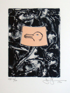 Untitled, For Harvey Grant 1990 Limited Edition Print by Jasper Johns
