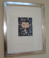 Untitled, For Harvey Grant 1990 Limited Edition Print by Jasper Johns - 1