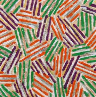 Cross Hatch (Untitled Ulae S.13) 1977 Limited Edition Print by Jasper Johns